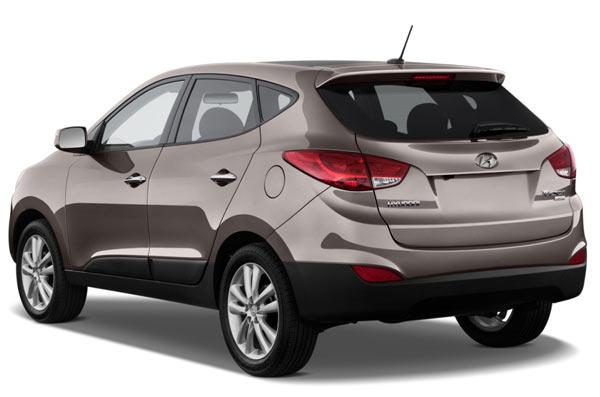 Hyundai ix35 фото вид сзади