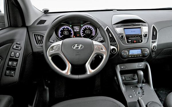 Салон Hyundai ix35 фото