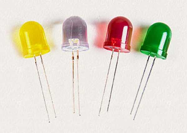 Свтодиоды могут иметь разные цвета