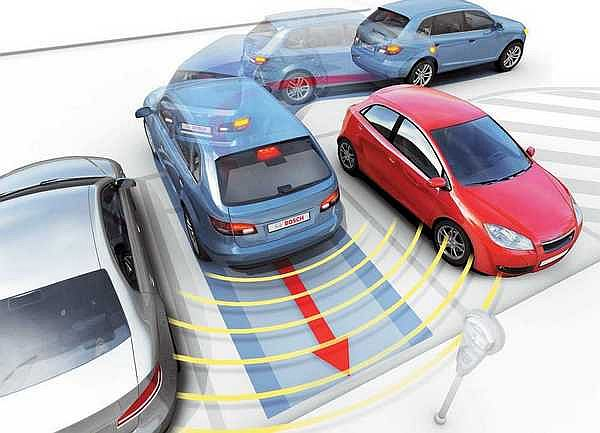 Принцип работы парктроника при парковке