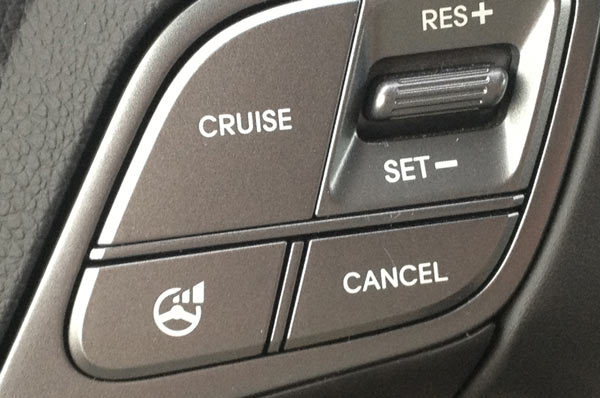 Кнопка включения круиз-контроля