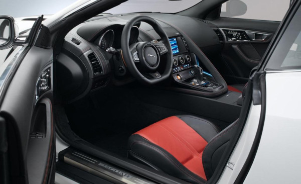 Jaguar F Type Coupe Interior - салон фото
