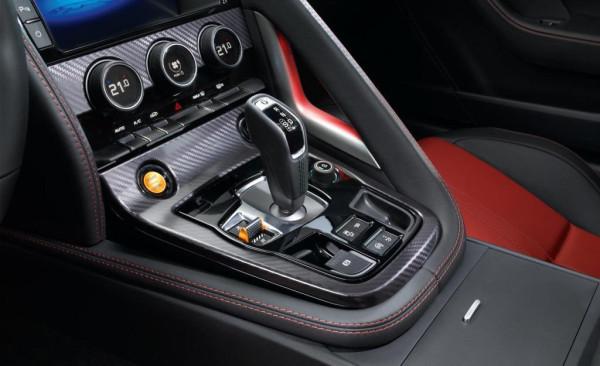 Консоль управления Jaguar F Type Coupe фото