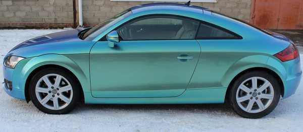 Тонировка под цвет машины