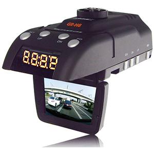 Антирадар (радар-детектор) и автомобильный видеорегистратор CONQUEROR GR-H8+