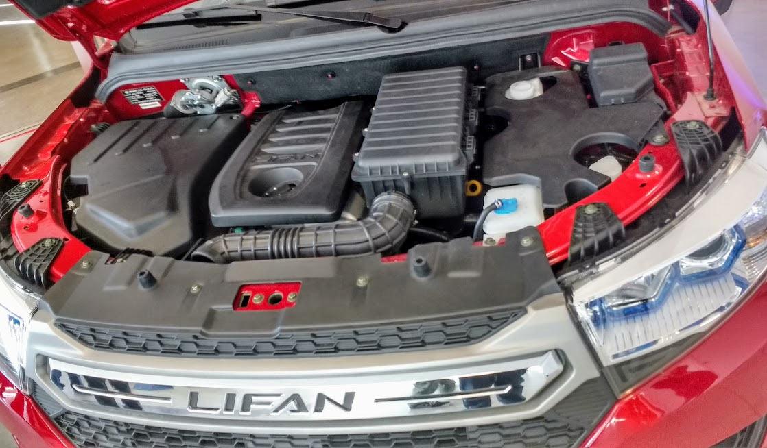 Двигатель Lifan MYWAY - 1,8 л, 125 л.с.