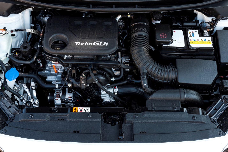 Турбированный двигатель Turbo GDi Kia Rio