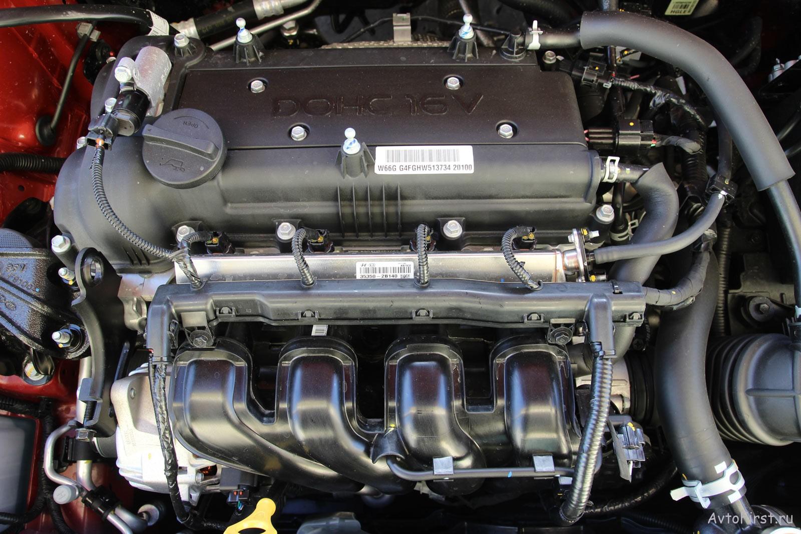 Атмосферный двигатель 1.6 л / 123 л.с.