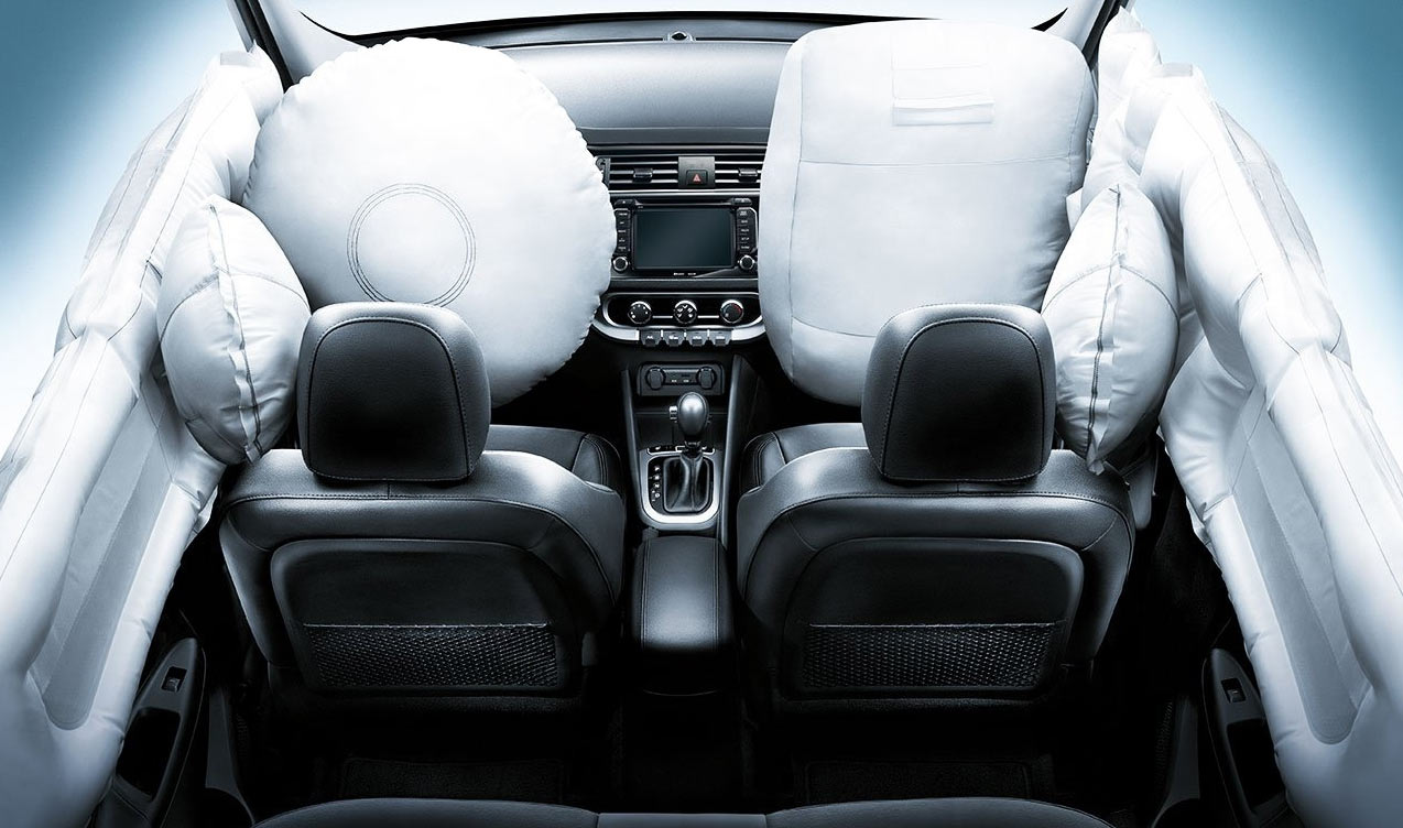 Подушки безопасности водителя и пассажира Kia Rio 2017