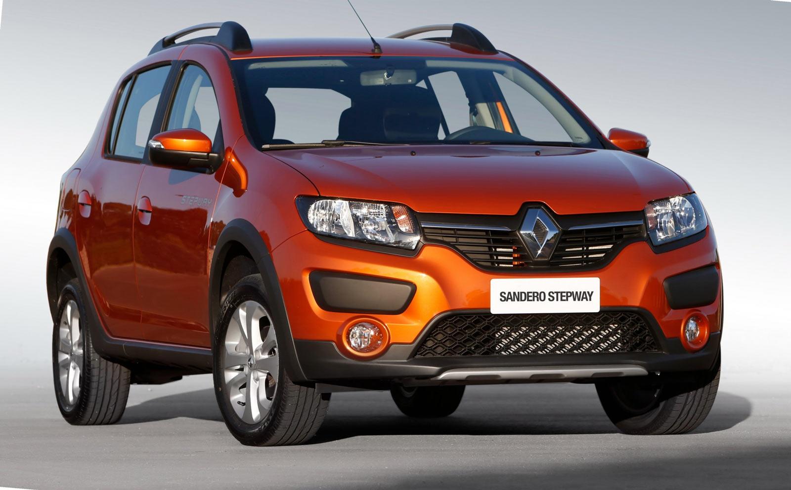 Renault SANDERO Stepway (Рено Сандеро Степвей 2017 в новом кузове)