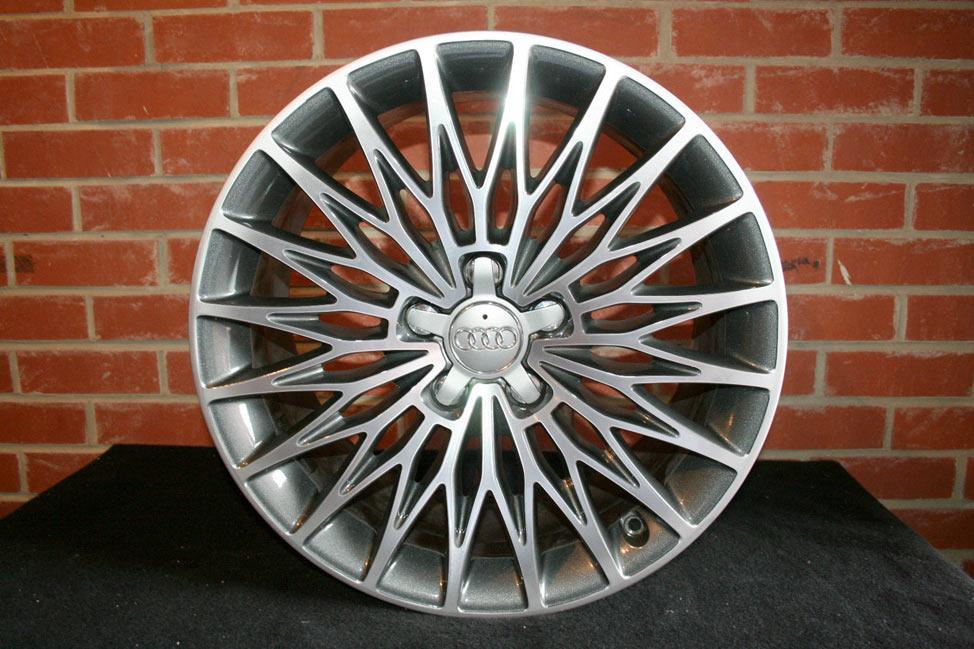 """Выбор литых дисков огромен, что позволяет выбрать """"литье"""" для любого авто исходя как из внешнего вида, так и цены. Естественно, продукция ведущих мировых брендов априори не может стоить дешево. На фото: литые диски фирма Audi"""