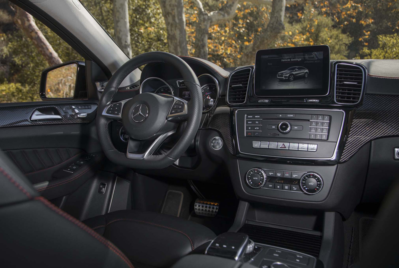 Mercedes Gle Class Interior