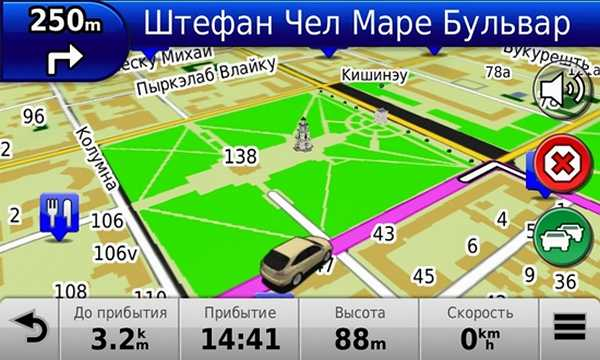 Выбирая навигационную программу вы выбираете и способ подачи информации