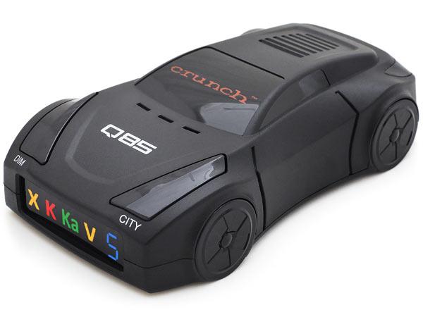 Автомобильный радар-детектор Crunch Q85 в виде машинки