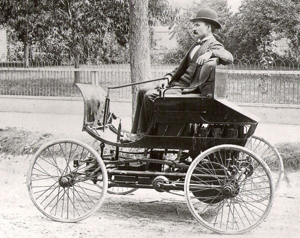 Первый в мире автомобиль фото