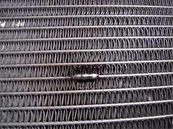 Результат пайки радиаторов