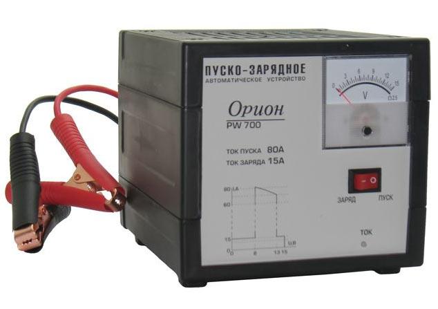 Автоматическое пуско-зарядное устройство для автомобильного аккумулятора Орион PW700