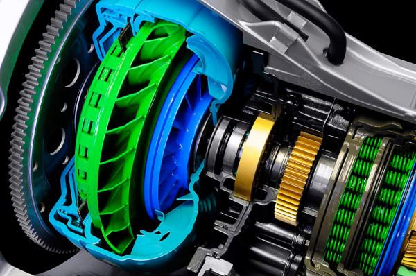 Шестиступенчатая АКПП автомобиля Ford F-series Super Duty в разрере