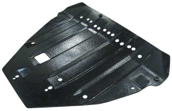 Защита картера из композитных материалов не подвержена коррозии