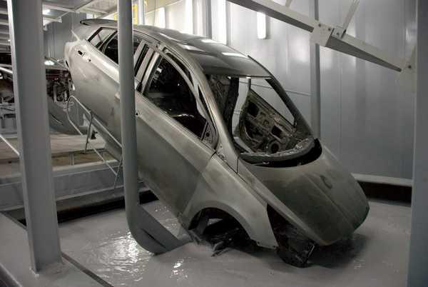 Защита автомобиля от коррозии цинкованием