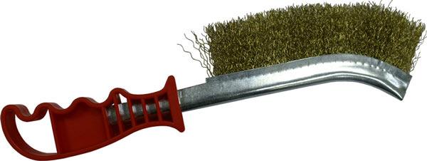 Ручная изогнутая корщетка - хорошо подходит для зачистки швов и внутренних углов
