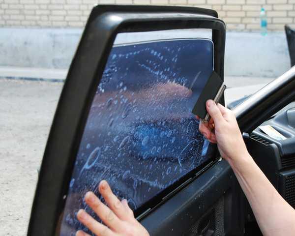 Тонировка машины своими руками