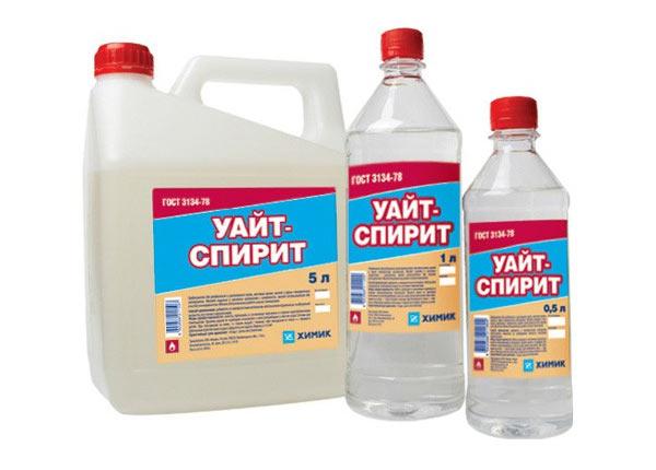 Уайт спирит продается в таре различного объема. Подойдет для обезжиривания кузова