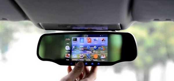 Зеркало с видеорегистратором и антирадаром Arena pro 8500