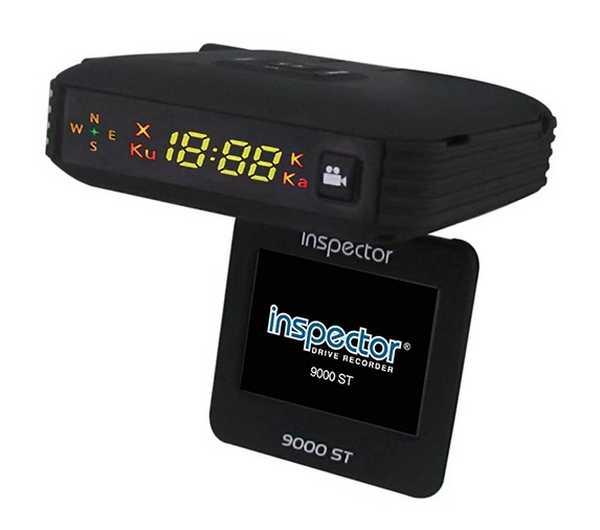 Навигатор радар детектор видеорегистратор Inspector 9000 ST
