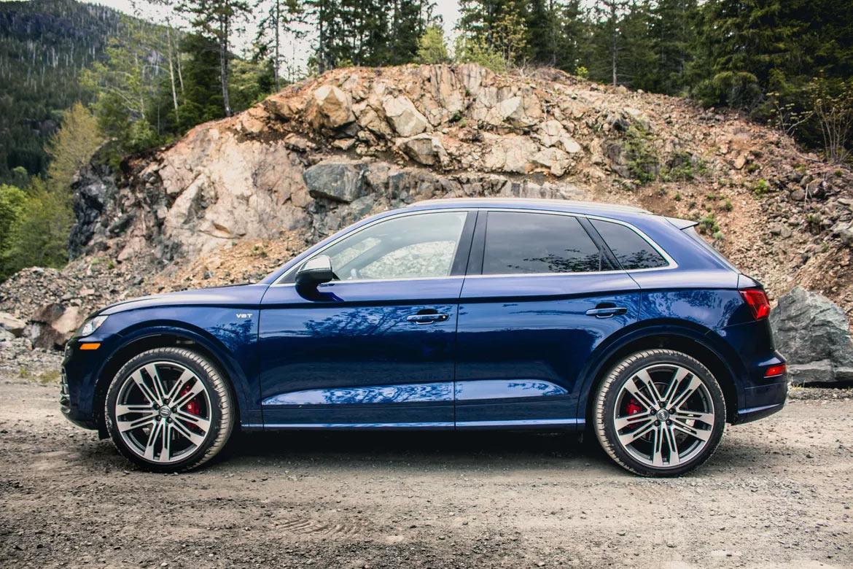 2018 Audi SQ5 - вид сбоку