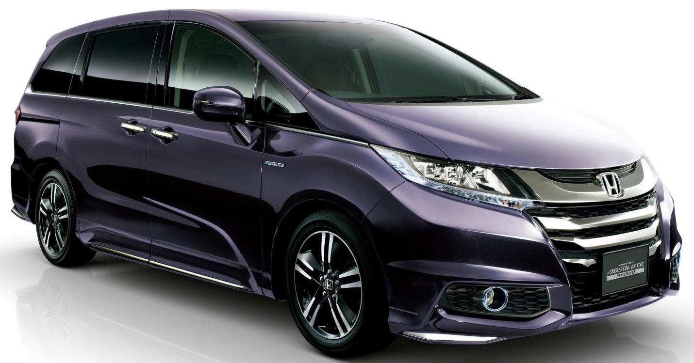 Honda Odyssey - японский минивэн