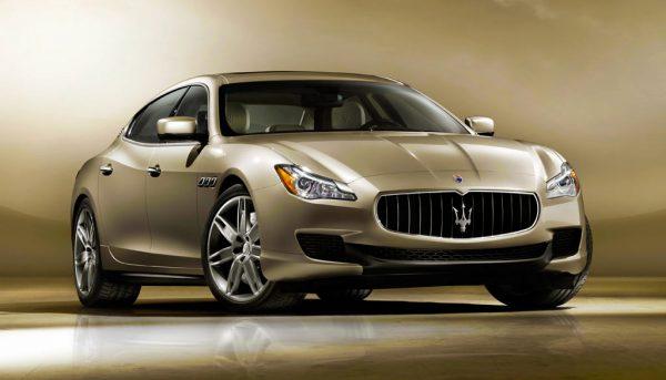 Представительский F-класс Maserati Quattroporte
