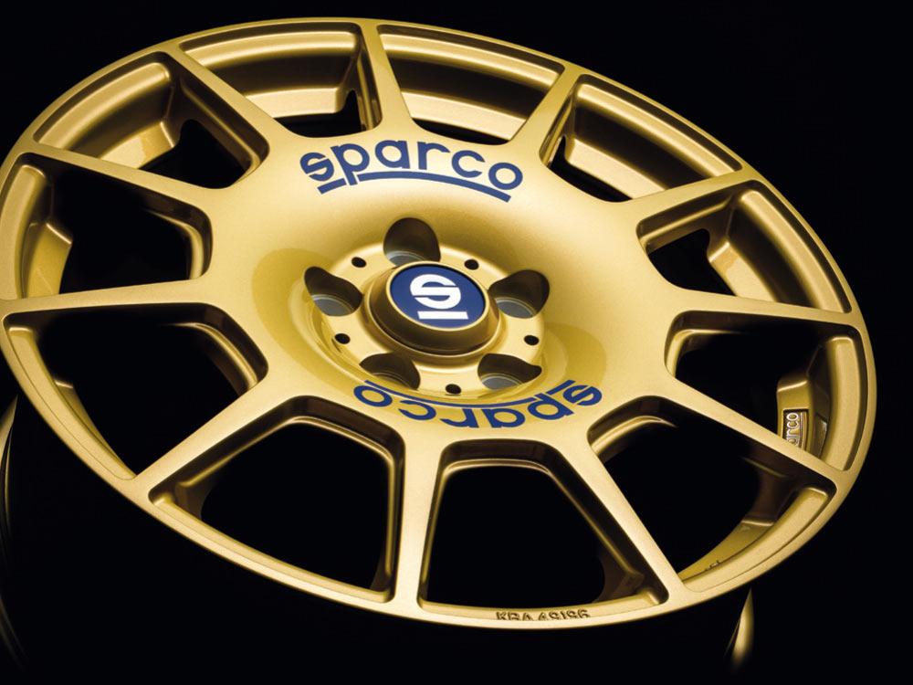 Колесный диск итальянской компании Sparco