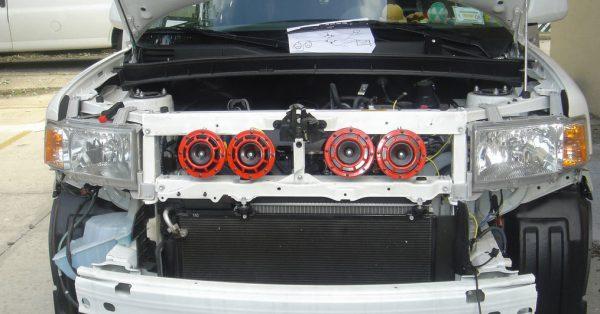 установка звукового сигнала на автомобиль