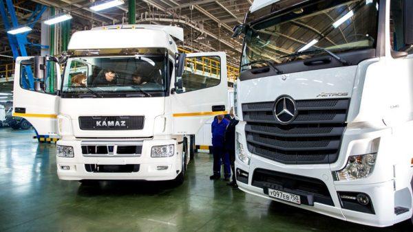 лучшие отечественные и импортные грузовики