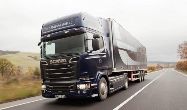 популярные и надёжные грузовики Scania R.