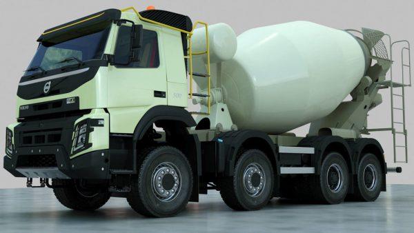 бетономешалка Volvo