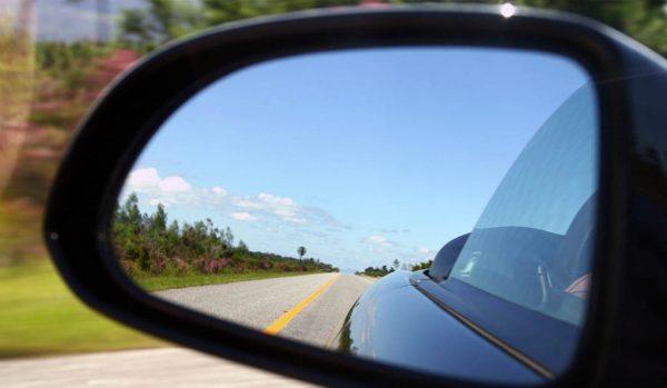 настройка бокового зеркала