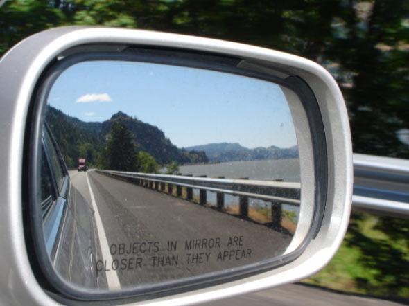 настройка правого зеркала